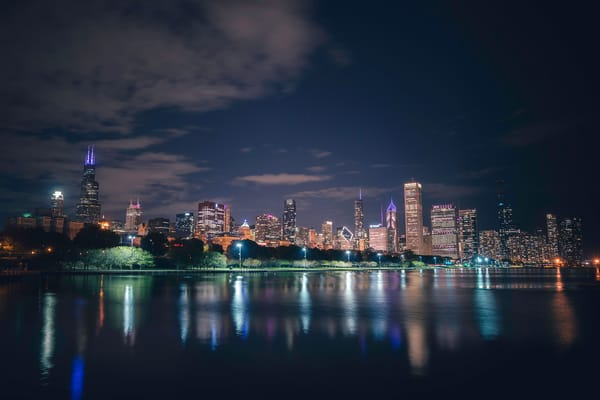 October Reflections in Chicago - Chicago Art   William Drew Photography