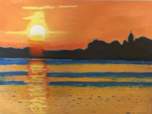 Sunset Over Lake Kelly Art | JoemcInroy