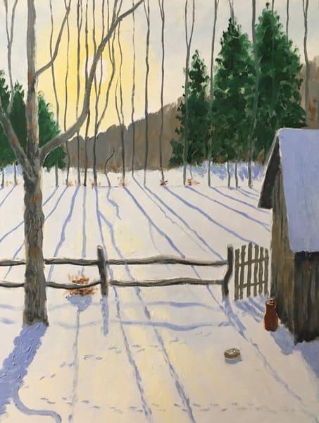 Winter Morning Art | JoemcInroy