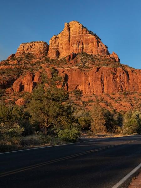 Red Rock Road Photography Art   Leiken Photography