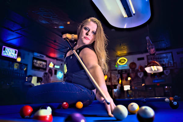 Pool Hall Vixen #2