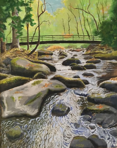 Lower Country,  Larger Stream Art | JoemcInroy