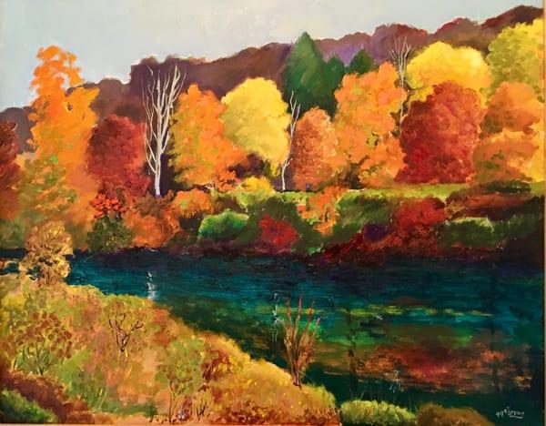 Autumn At Riverwalk Art | JoemcInroy