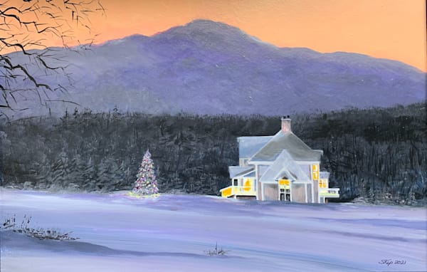 Christmas Is Coming Art | Skip Marsh Art