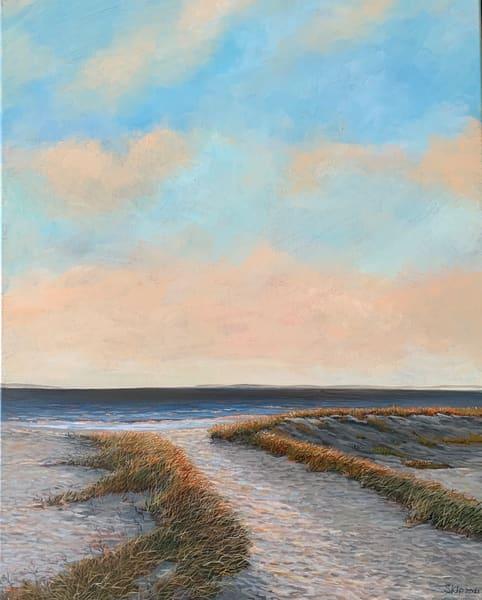 Beach Sunset Over Skaket Beach Art   Skip Marsh Art