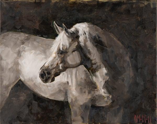 Original Oil Painting on Canvas - Raphael Horse Portrait