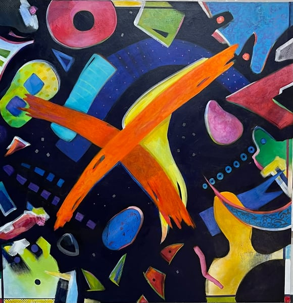 X And O Art   Joan Bixler Art