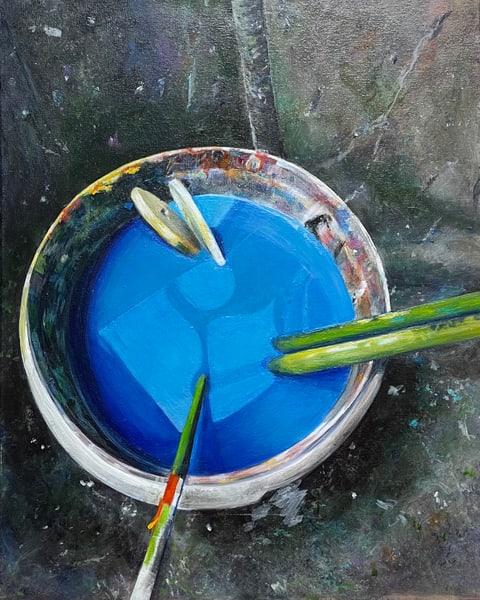 Joan's Paint Bucket Art   Joan Bixler Art