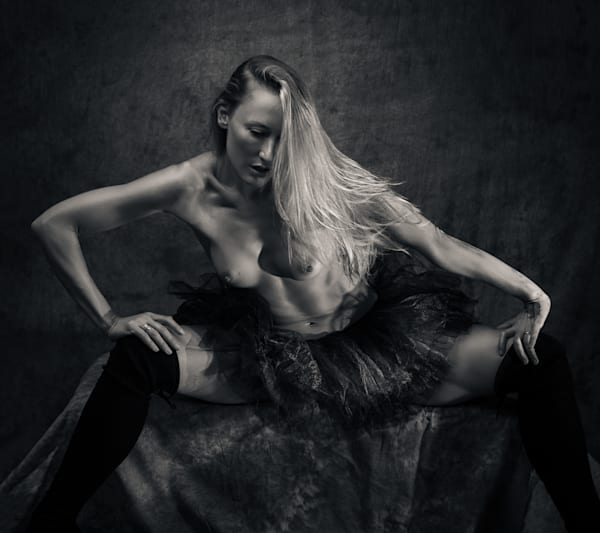 Kim In Black Tutu Photography Art   Dan Katz, Inc.