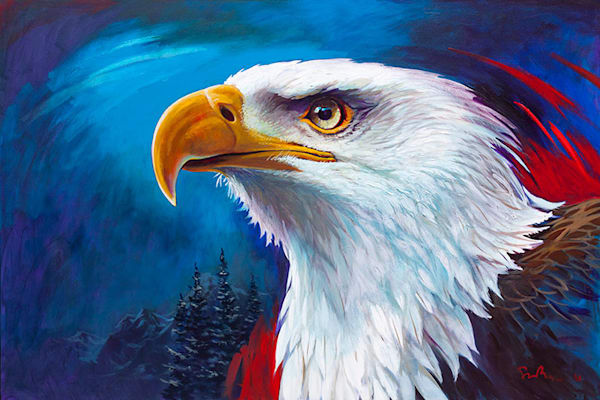 "Simon Bull Available Original Painting - ""Semper Fidelis (Always Faithful)"""