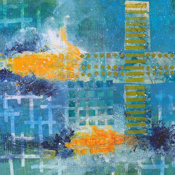 Turbulence - Original Abstract Painting | Cynthia Coldren Fine Art