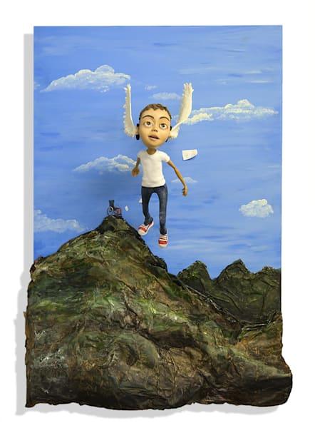 Flying Places Art | Priscila Soares - MyLuckyEars