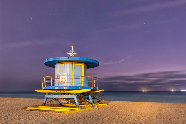 Life Guard Station Lincoln Road 83 A3769 Miami Beach Fl Usa Photography Art | Clemens Vanderwerf Photography