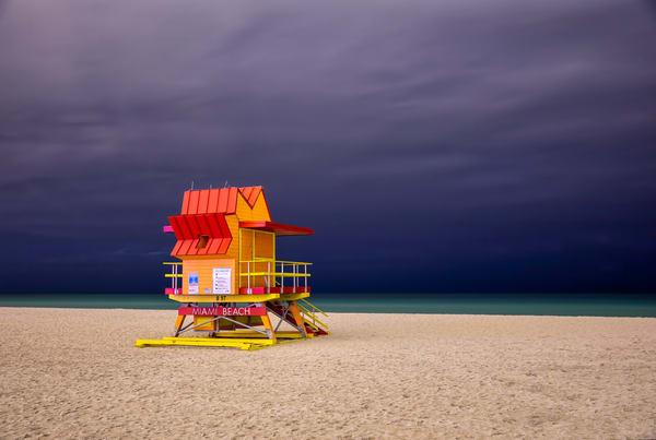 Miami Beach Life Guard Stations