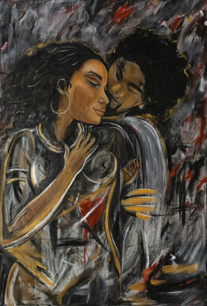My Heart Aches For The Love Art | Blac Rhino Art Group