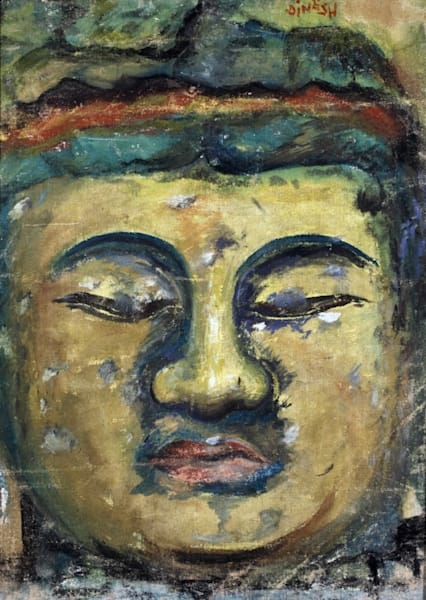 Buddha Carved Art   Dinesh Doshi Art