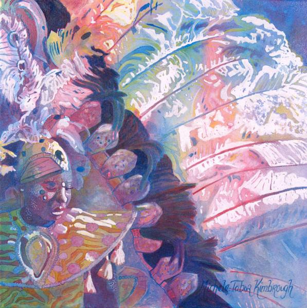 25. Crucian Carnival Series Xxv Art | Michele Tabor Kimbrough