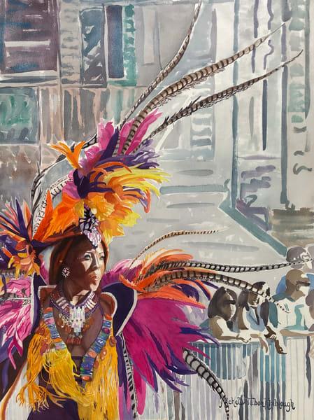 18. Jasmine   Crucian Carnival Series Xviii Art | Michele Tabor Kimbrough