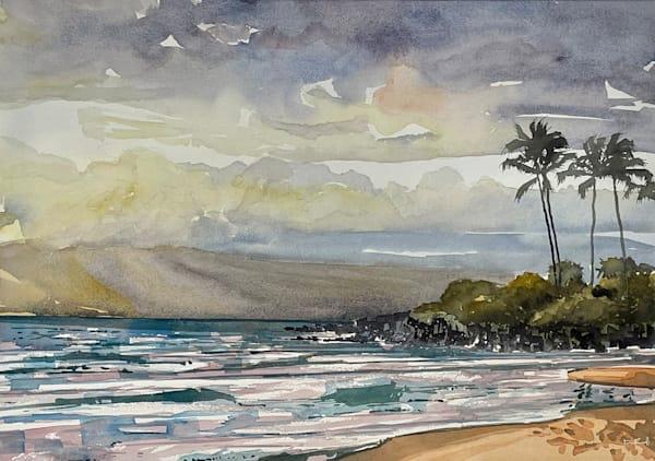Wailea Sunset  Art | the | danfinnell | studio
