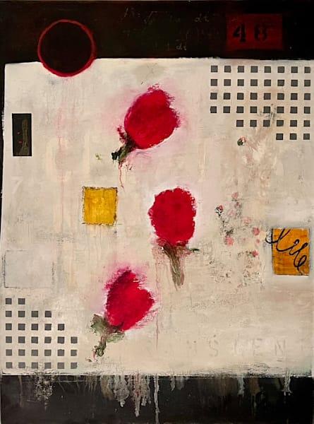Bedside Roses Art | Adam Shaw Gallery