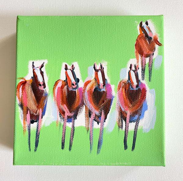 Mini Horses The Grass Is Greener | Lesli DeVito