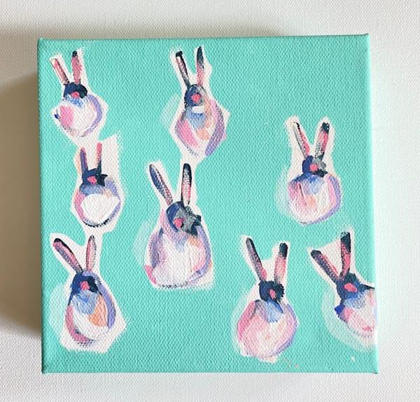 Mini Bunnies Mint Julip  | Lesli DeVito