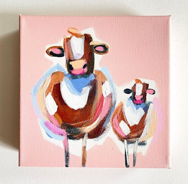 Mini Cows Mama And Me  | Lesli DeVito