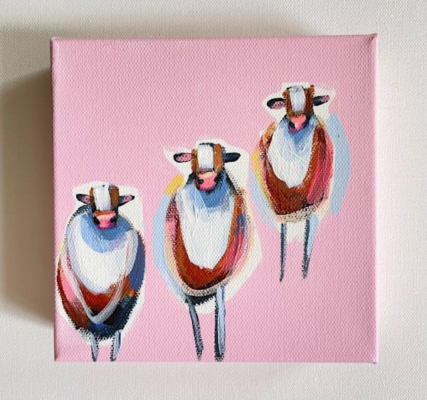 Mini Cows Stepping Stones | Lesli DeVito