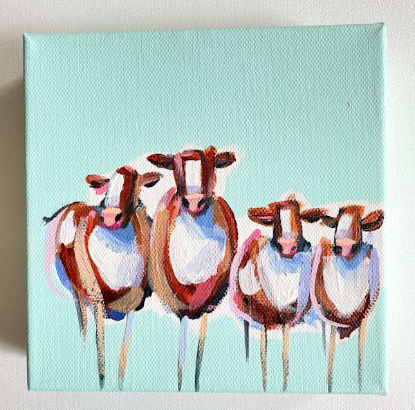 Mini Cows Small Town Gossip | Lesli DeVito