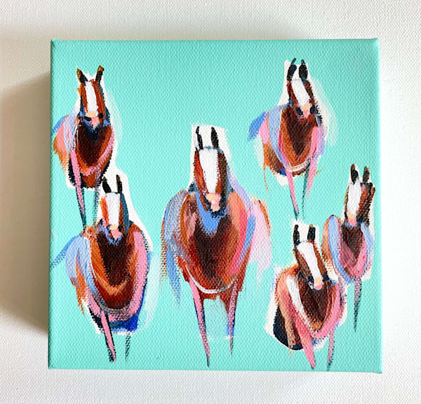 Mini Horses The Wild Bunch  | Lesli DeVito