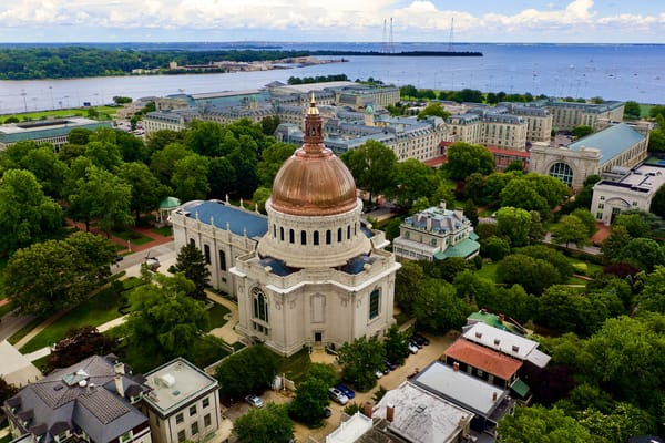 Naval Academy Chapel Dome   Reborn Art   Jeff Voigt Owner/Aerial Photographer
