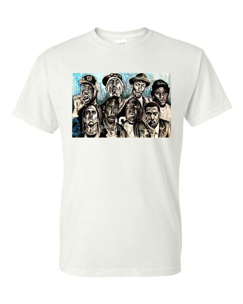 Hip Hop Legends T Shirt Cotton Feel  | Blac Rhino Art Group