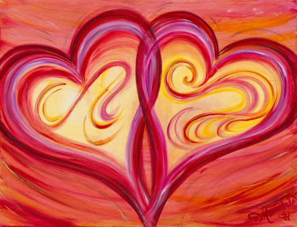 Dancing With Your Seat Belt Off'~ Original Painting  Art   Heartworks Studio Inc