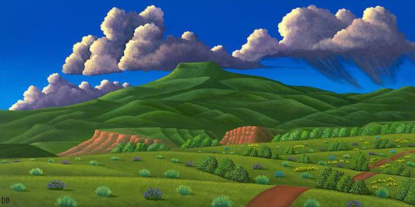Cerro Pedernal Art   Fine Art New Mexico