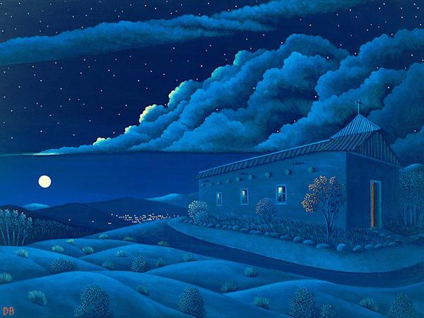 Morada Moonrise Art   Fine Art New Mexico