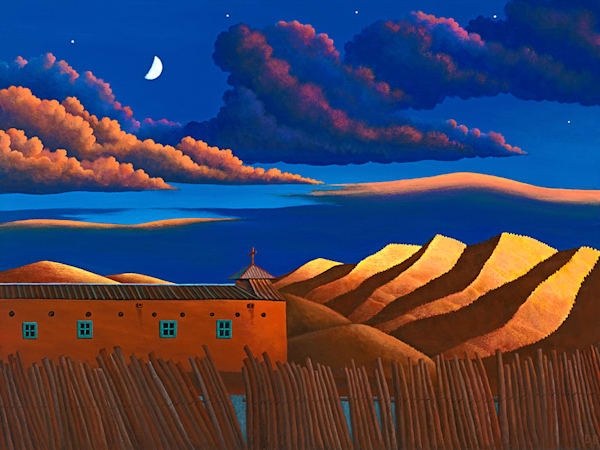 Morada Sunset Art   Fine Art New Mexico