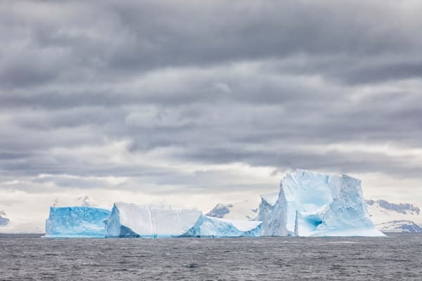 Ice Bergs Stranded At Orkneys 83 A6084 South Orkney Islands Scotia Sea Photography Art | Clemens Vanderwerf Photography