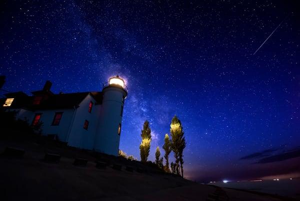Point Betssie By Starlight