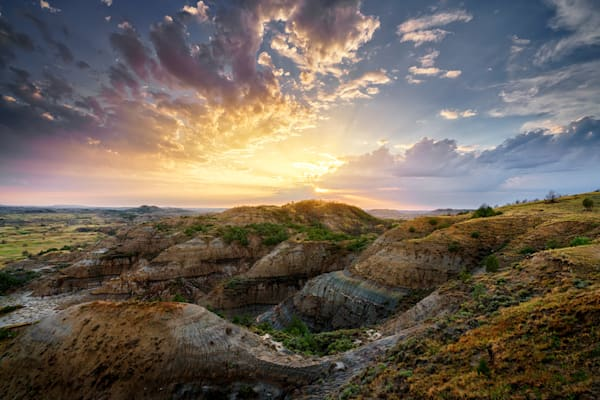 Clearing Storm in the Badlands   Shop Photography by Rick Berk
