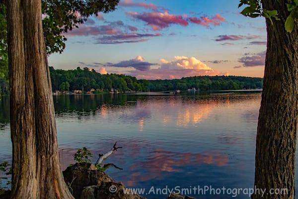 Sunset Swartswood July 4