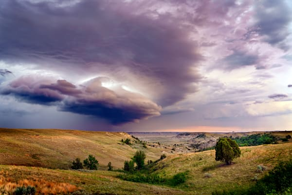 Thunder in the Badlands   Shop Photography by Rick Berk