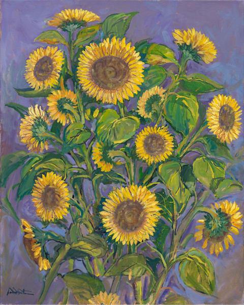Sunflowers Still Life 24x30