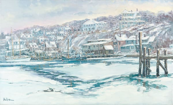 Smiths Cove Winter 22x36