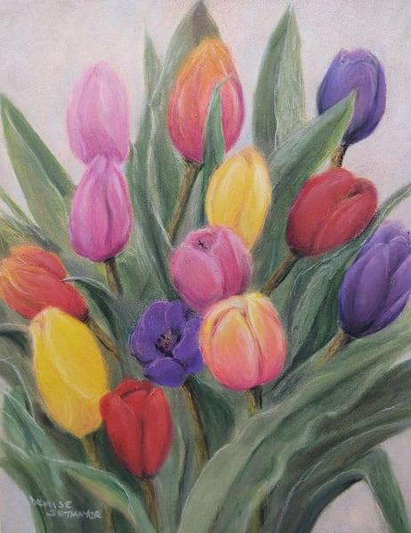 Tulip Bouquet Art | Cincy Artwork