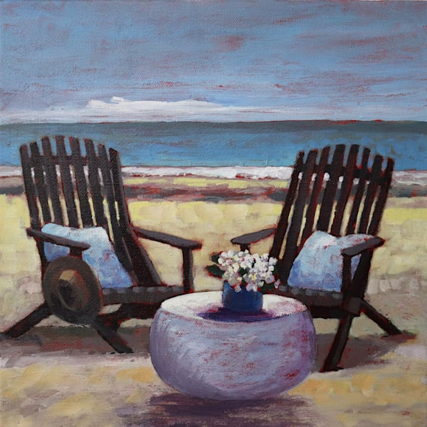 Adirondaks On The Beach Art   Sue Riger Studio
