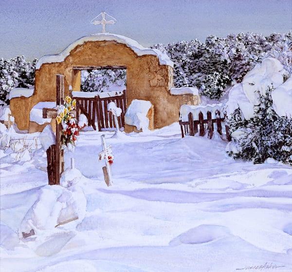 Penasco Campos Santo Ii Art | Fine Art New Mexico