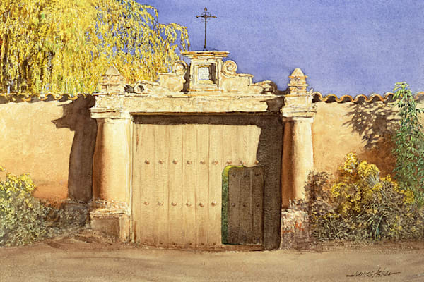 The Mexican Gate   1991 Art | Fine Art New Mexico