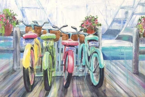 Bikes On The Boardwalk Art | Sophie Dare Designs
