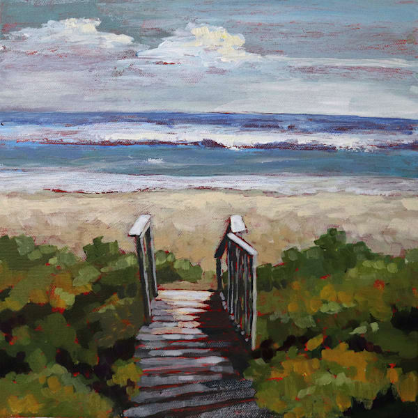 Beach Gate   Sue Riger Studio