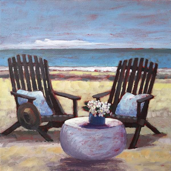 Adirondaks On The Beach   Sue Riger Studio